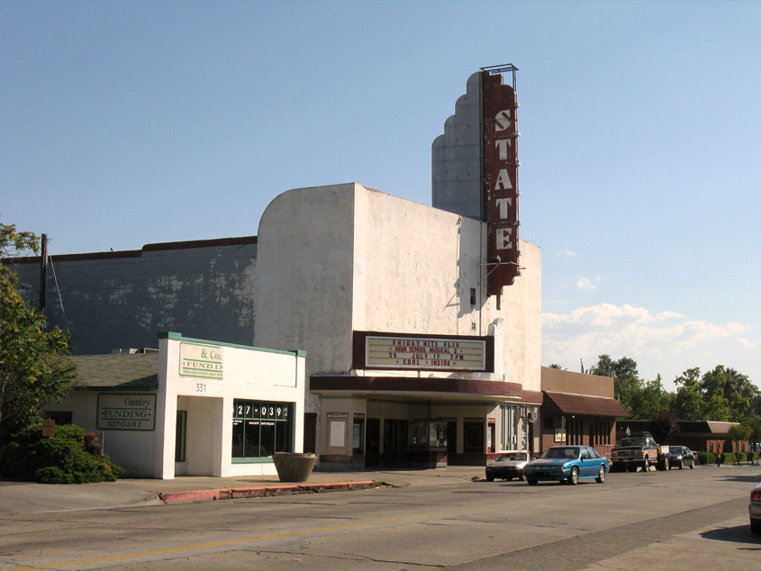 The State Movie Theater Red Bluff Ca